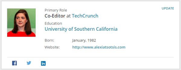 Techcrunch Co-Editor