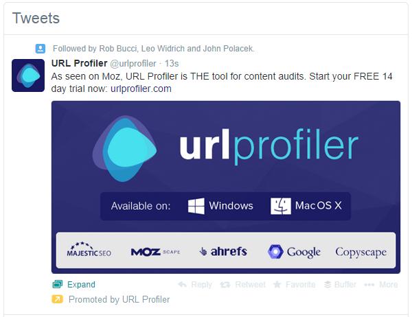 Twitter Ad in Stream