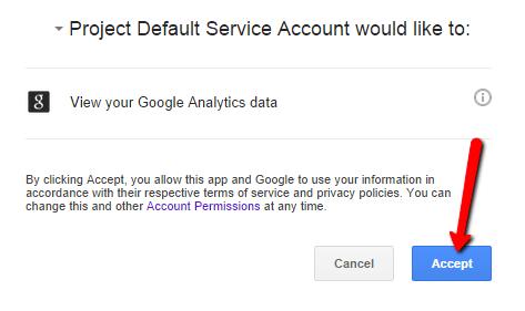 Google Service Page