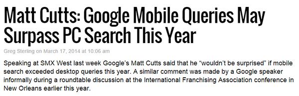 Google Mobile Queries