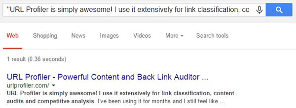 Include Domain Search