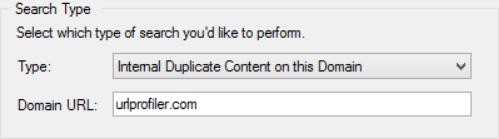 Internal Domain Search