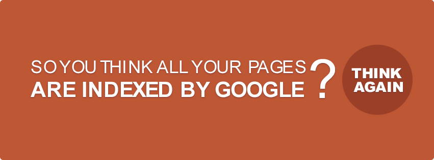 So You Think All Your Pages Are Indexed By Google? Think Again - URL
