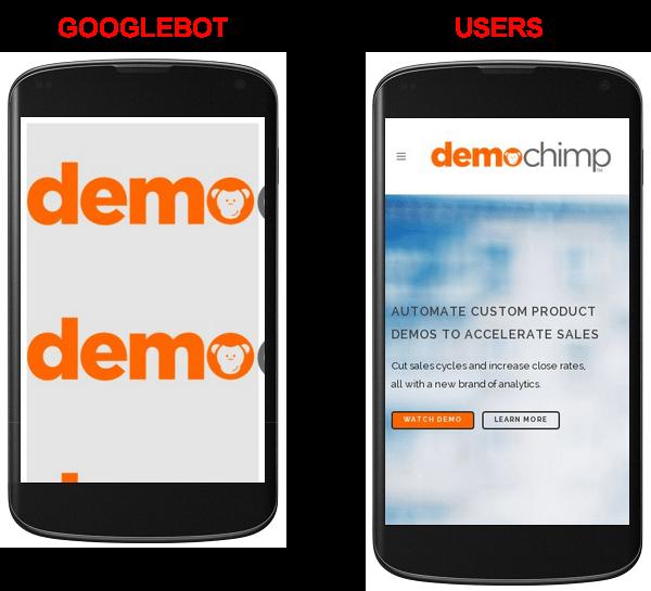 Demochimp User Googlebot