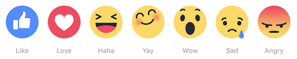 Facebook Emoji Buttons