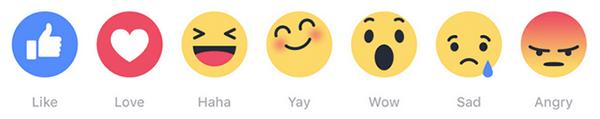 Facebook Emoji Buttons